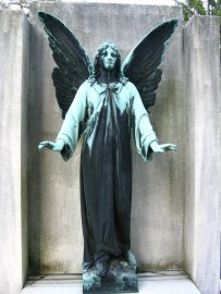 Even stone angels wear away in time...